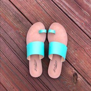 Lucky Brand Sea Foam Green Sandals